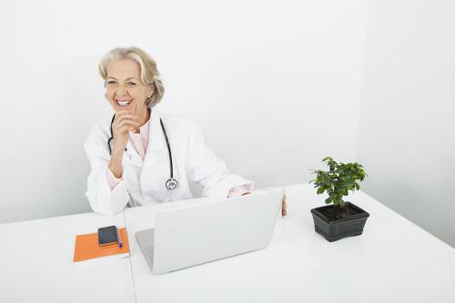 Снимка на лекарка