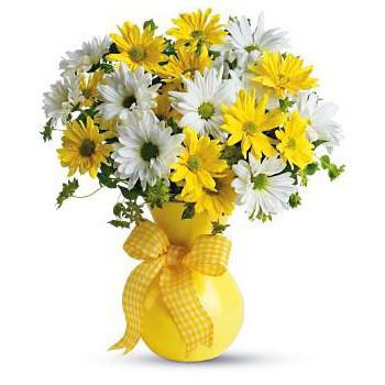 Ваза с цветя (снимка).