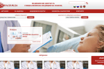 Medical center Nadejda Web site (screenshot)