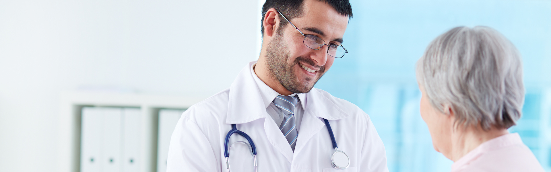 Снимка на лекар и пациент